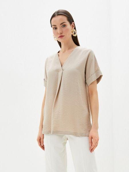 Бежевая блузка Marks & Spencer