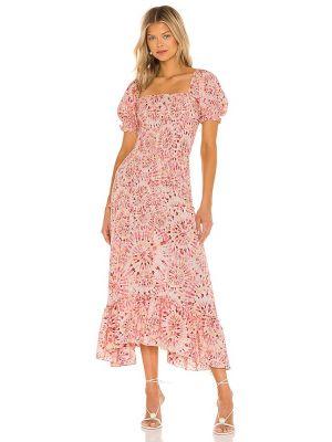 Хлопковое платье - розовое Misa Los Angeles
