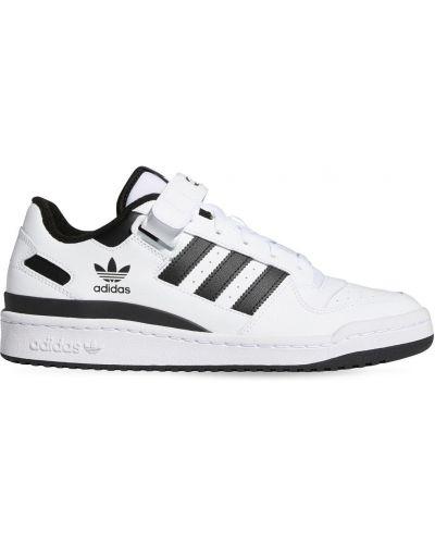 Buty sportowe skorzane - białe Adidas Originals
