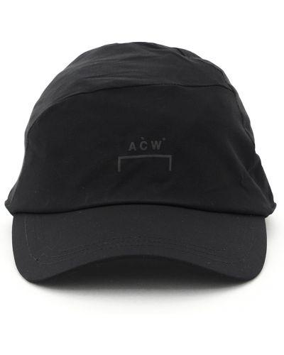 Czarna czapka z daszkiem A-cold-wall*
