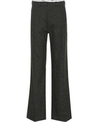 Классические брюки зеленый шерстяные Joseph
