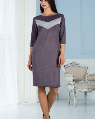 Замшевое платье азалия