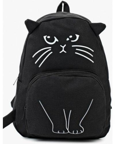 Текстильный рюкзак - черный Kawaii Factory