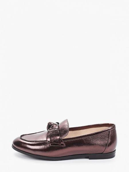 Кожаные туфли бордовый Pierre Cardin