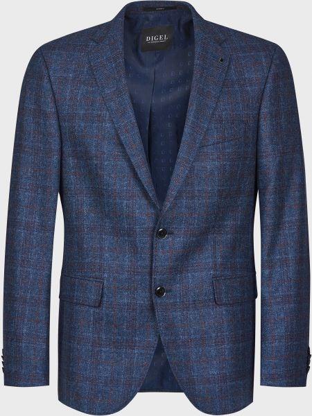 Шерстяной пиджак - синий Digel
