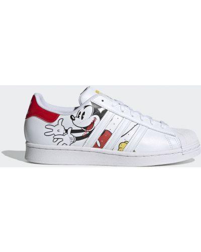Микки маус красные кроссовки Adidas