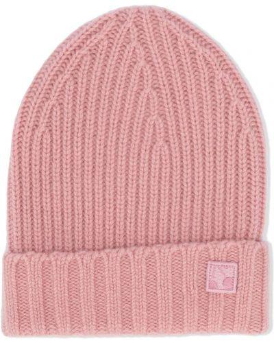 Z kaszmiru różowy kapelusz Bonpoint