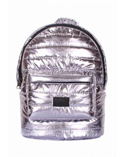 Рюкзак серебряного цвета Poolparty