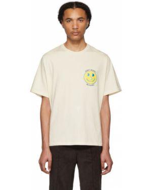 Koszula krótkie z krótkim rękawem z kołnierzem z nadrukiem Wonders