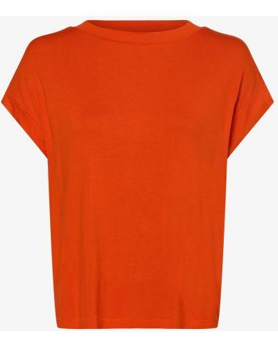 Pomarańczowy T-shirt basic Essentiel Antwerp