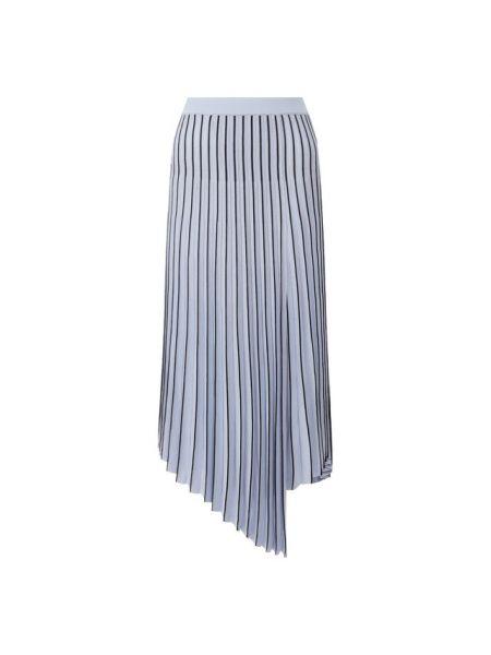 Синяя юбка из вискозы Mrz