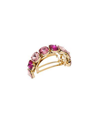 Заколка французская розовый L. Erickson
