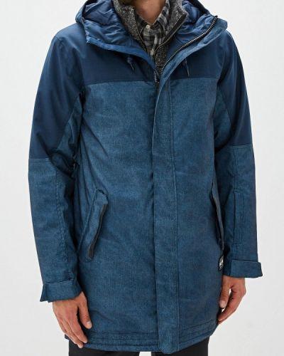 Утепленная куртка осенняя синяя Termit