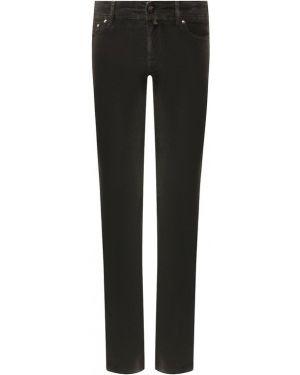Прямые джинсы вельветовые эластичные Jacob Cohen