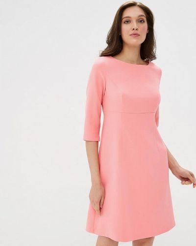 Платье розовое осеннее Akimbo