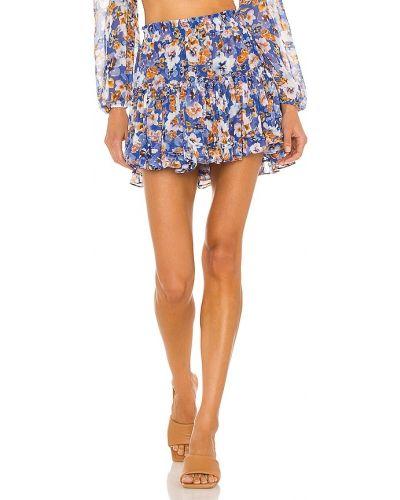 Хлопковая юбка - синяя Misa Los Angeles