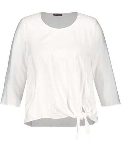 Czarna bluzka z wiskozy Samoon
