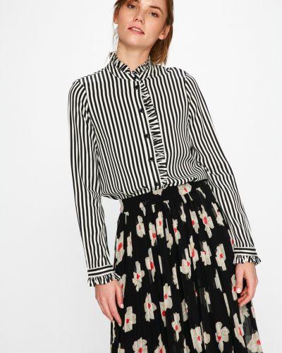 Блузка в полоску с воротником-стойкой Vero Moda