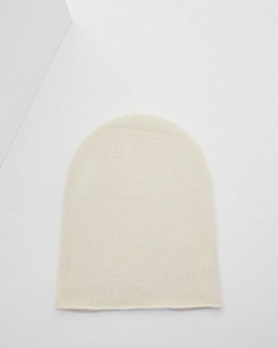 Белая шапка осенняя Weekend Max Mara