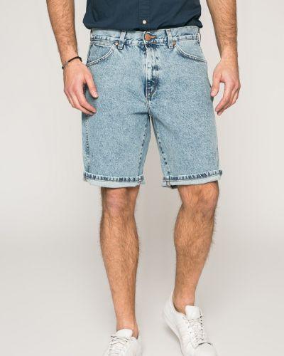 Джинсовые шорты с карманами синий Wrangler