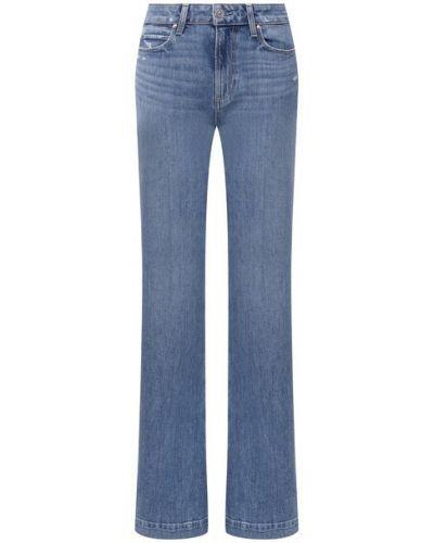 Хлопковые джинсы - голубые Paige