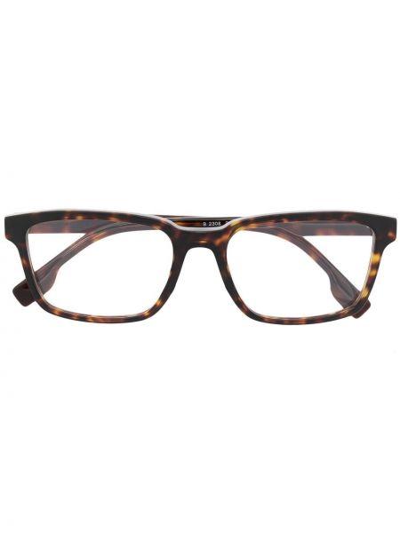 Оправа для очков металлические - коричневые Burberry Eyewear