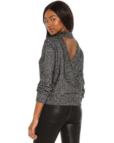 Черный открытый шерстяной свитер Astr The Label