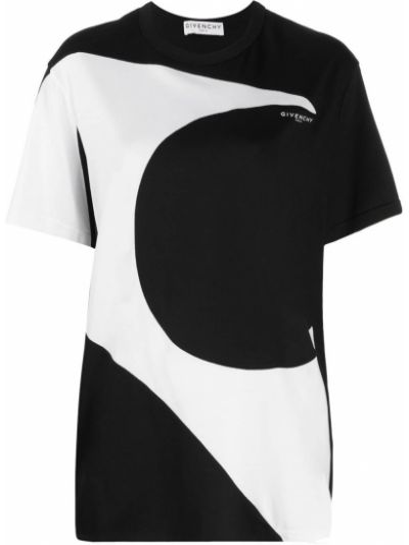 Bawełna biały prosto koszula krótkie rękawy Givenchy