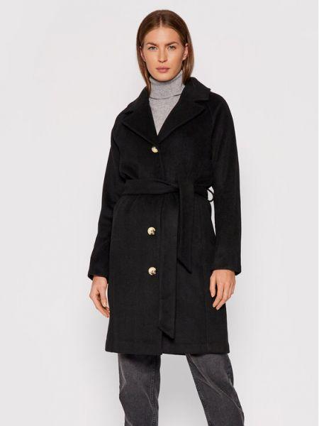 Płaszcz wełniany - czarny Selected Femme