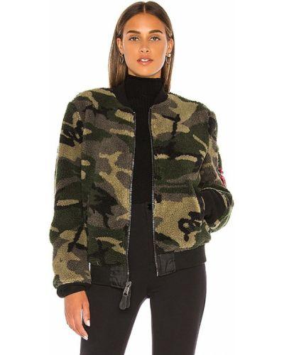 Повседневная куртка с карманами из искусственного меха на молнии Alpha Industries