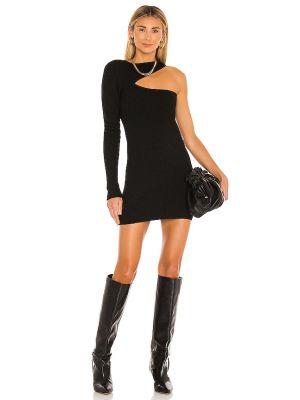 Czarna sukienka wełniana Nbd