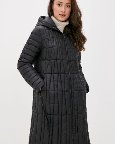Черная утепленная куртка Bulmer