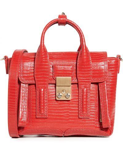 Кожаный ранец с карманами с тиснением 3.1 Phillip Lim