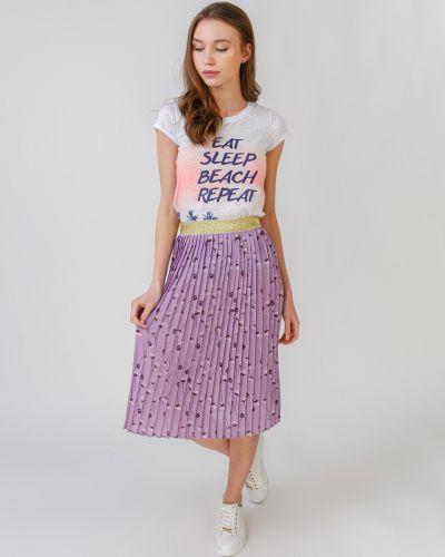Плиссированная юбка с поясом Numph
