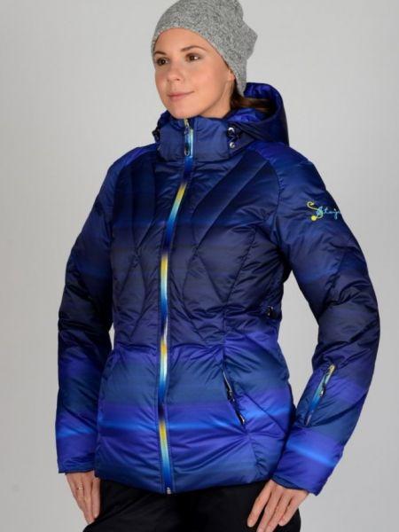 Куртка с капюшоном - синяя Stayer