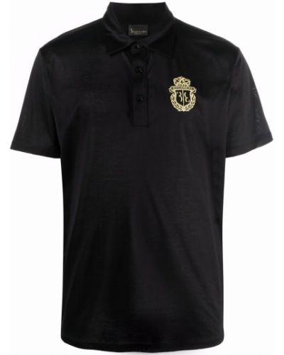 Черная рубашка с воротником Billionaire