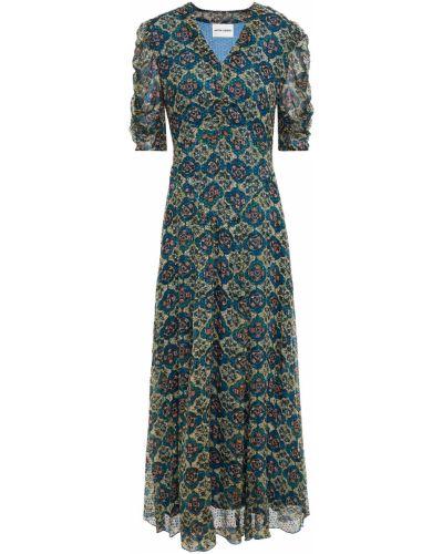 Sukienka z jedwabiu Antik Batik