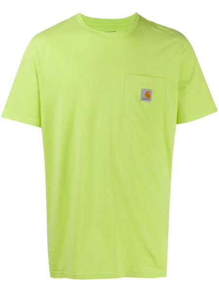 Koszula krótkie z krótkim rękawem z logo z kieszeniami Carhartt Wip