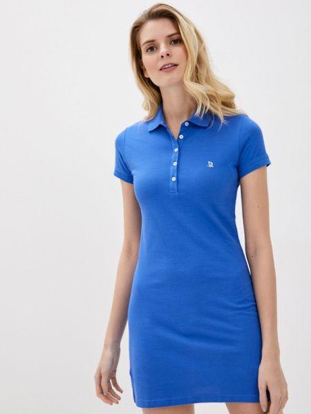 Футбольное синее платье Giorgio Di Mare