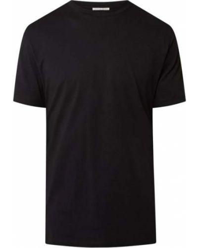Czarna t-shirt bawełniana Tiger Of Sweden