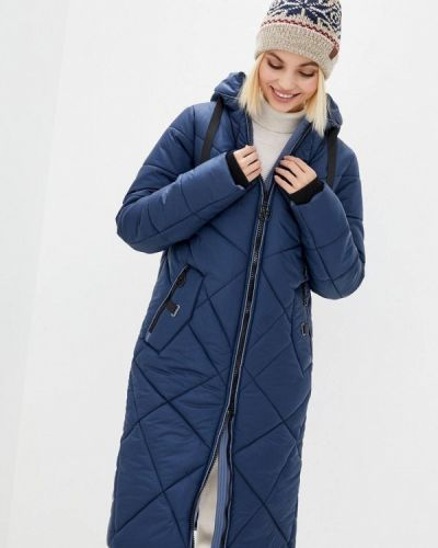 Утепленная синяя куртка Sfn