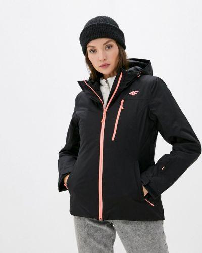 Черная куртка горнолыжная 4f