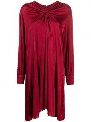 Платье макси с длинными рукавами - красное Isabel Marant