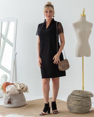 Вечернее платье летнее с V-образным вырезом Eliseeva Olesya