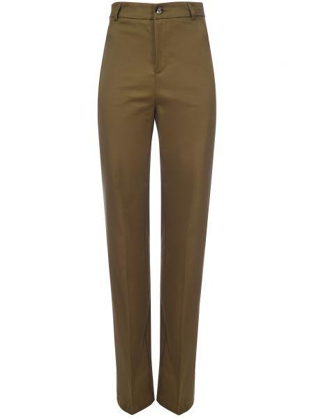 Хлопковые зеленые брюки Ballantyne