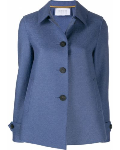 Синяя короткая куртка Harris Wharf London