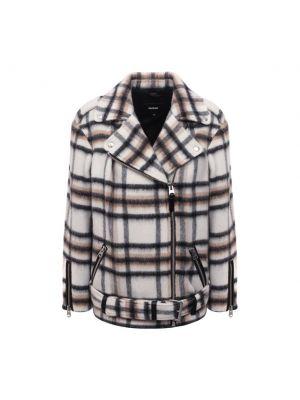 Серая шерстяная куртка Mackage