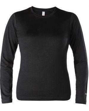 Футбольная свободная черная футболка со стразами Red Fox