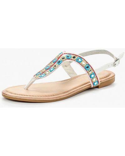 Белые сандалии Chicmuse