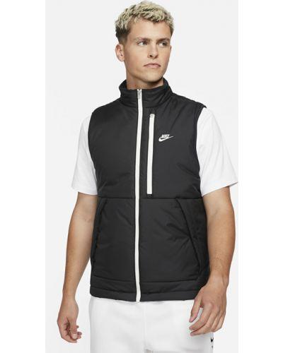 Черная жилетка утепленная Nike